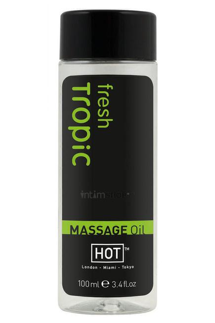 Массажное Масло Hot Massage Oil Тропик, 100 мл