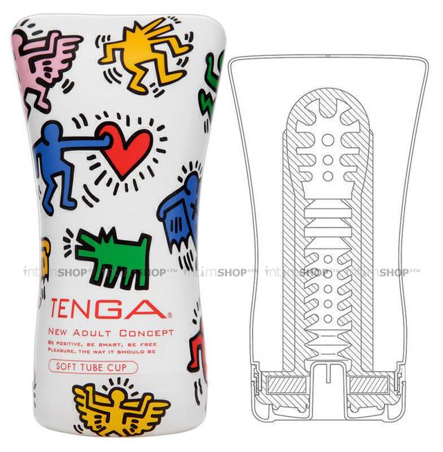 Мастурбатор Tenga Keith Haring Soft Tube