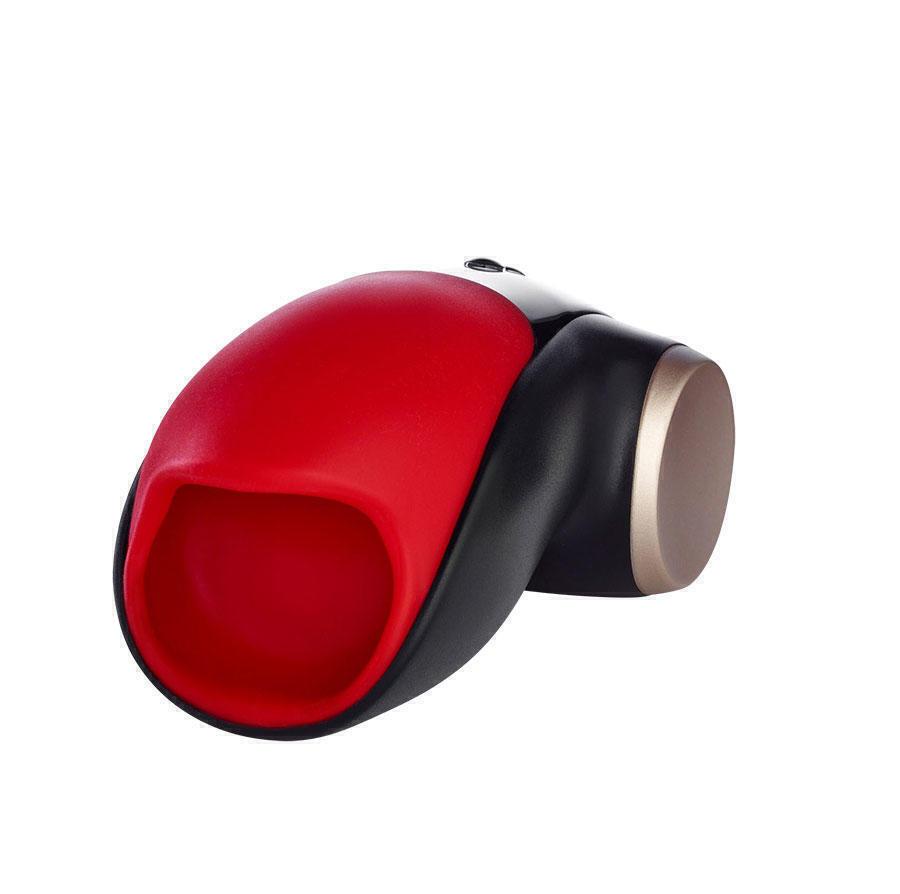 Мастурбатор Fun Factory Cobra Libre II, черно-красный