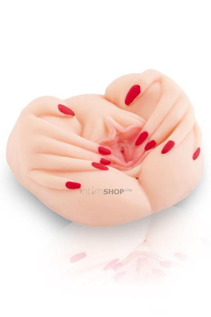 Мастурбатор с вибрацией в виде вагины ToyFa Juicy Pussy