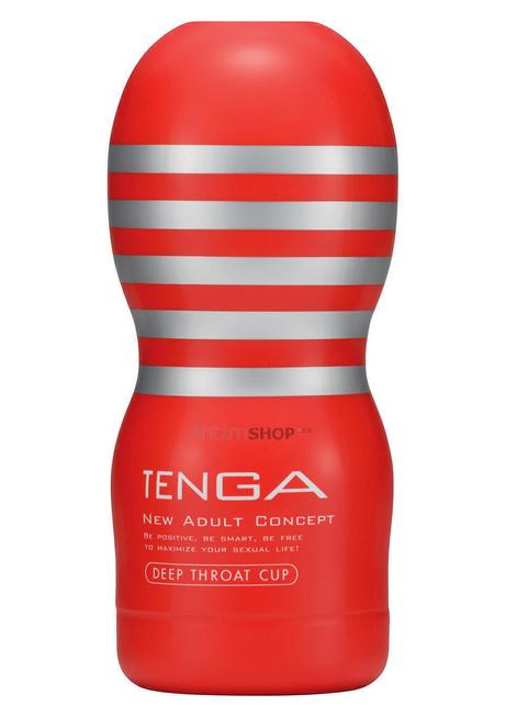 Мастурбатор Tenga Deep Throat Cup красный.