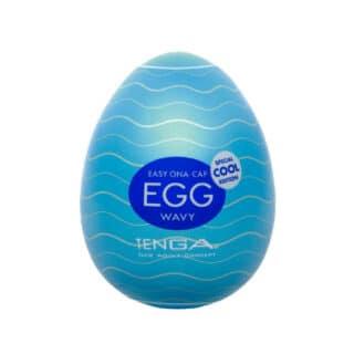 Мастурбатор Tenga Egg Cool с охлаждающим эффектом