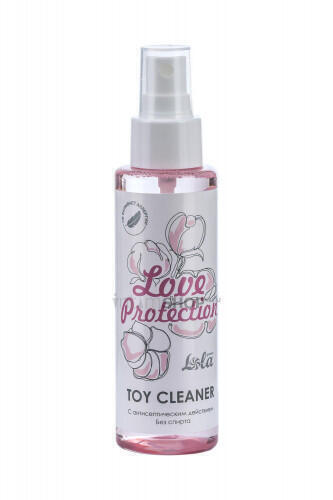 Очищающий спрей Toy cleaner Love Protection 110 мл.