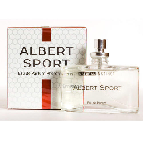 Мужская парфюмерная вода с феромонами Natural Instinct Albert Sport, 100 мл