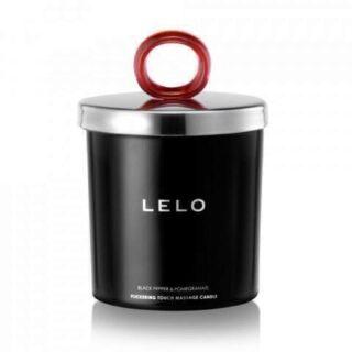 Мерцающая массажная свеча Lelo Black Pepper & Pomegranate (Черный перец и гранат), 150 гр
