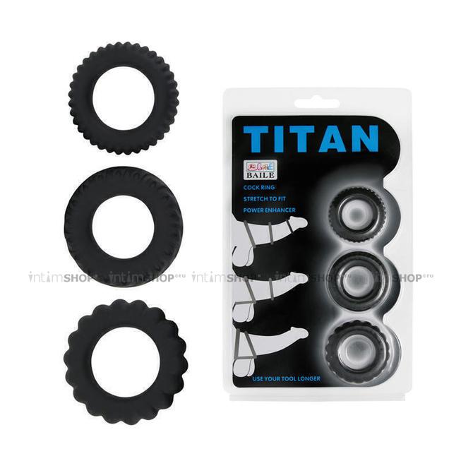 Набор эреционных колец TITAN