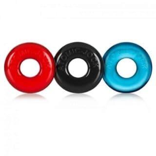 Набор эрекционных колец Oxballs Ringer 3 Pack Multi Small