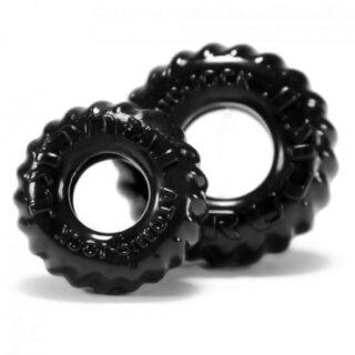 Набор эрекционных колец Oxballs Truckt Black Os