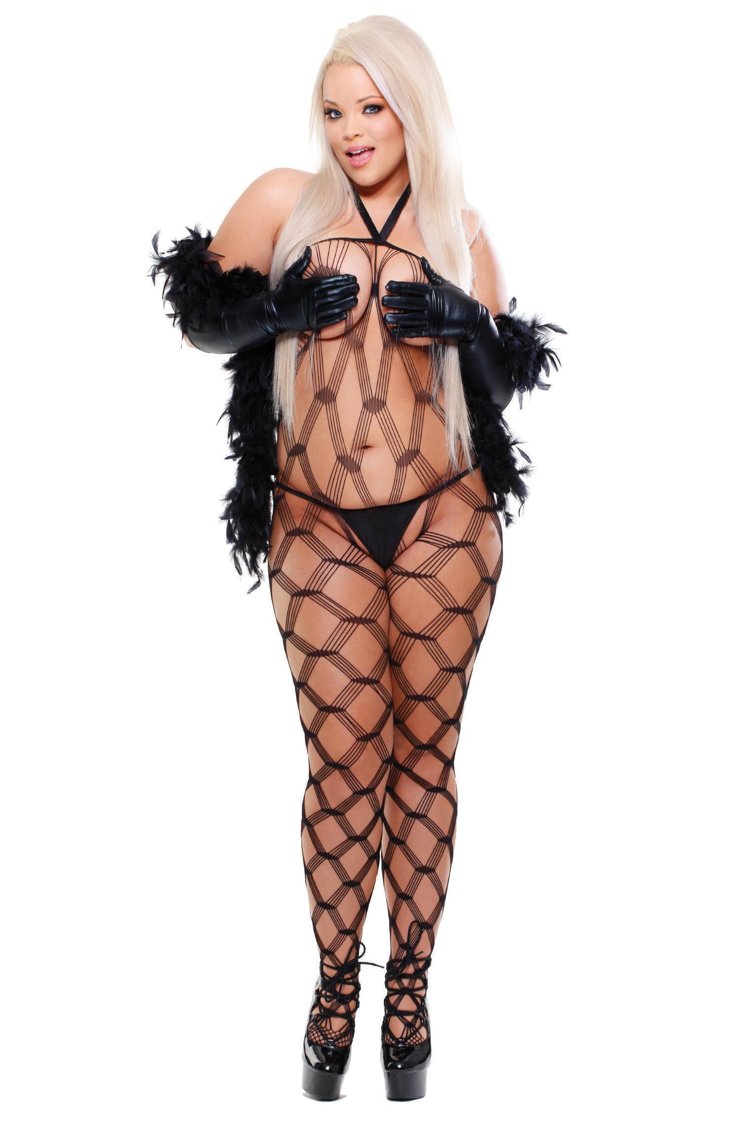 Боди Из Четырех Предметов Dream Weaver, размер Queen Size XXL