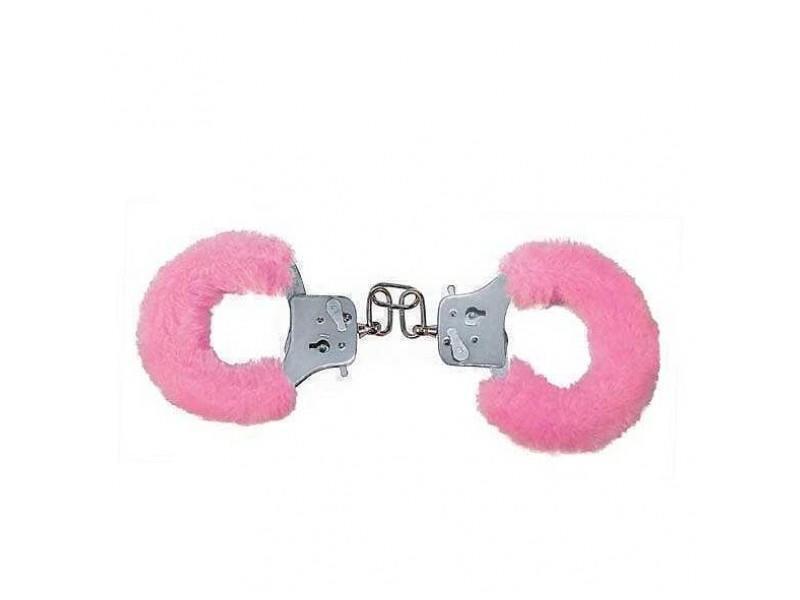 Наручники Розовые Furry Fun Cuffs Pink Plush