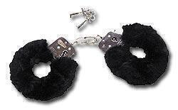 Наручники с Мехом Love Cuffs Black Plush