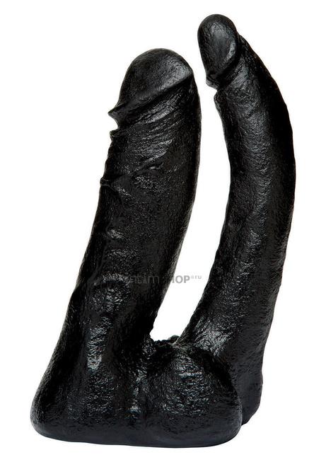 Двойная насадка фаллоимитатор Doc Johnson Vac-U-Lock-Double Penetrator Attachment, черный
