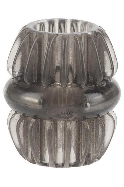 Насадка стимулирующая Magnum Support Plus ® Single Girth Cages черная. Нет в наличии