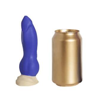 Фаллоимитатор EraSexa Номус Mini, 17 см, синий