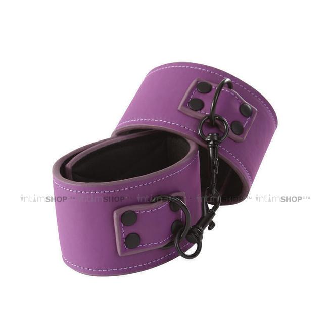 Наручники NS Novelties Lust Bondage Wrist Cuff, фиолетовый
