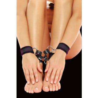 Крестообразные наручники (оковы, фиксаторы) для рук и ног Velcro hand and leg cuffs Ouch! Shots