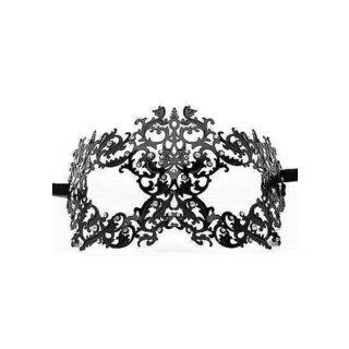 Маскарадная маска Forrest Queen, чёрная
