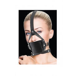 Кляп в виде намордника Leather Mouth Gag Shots