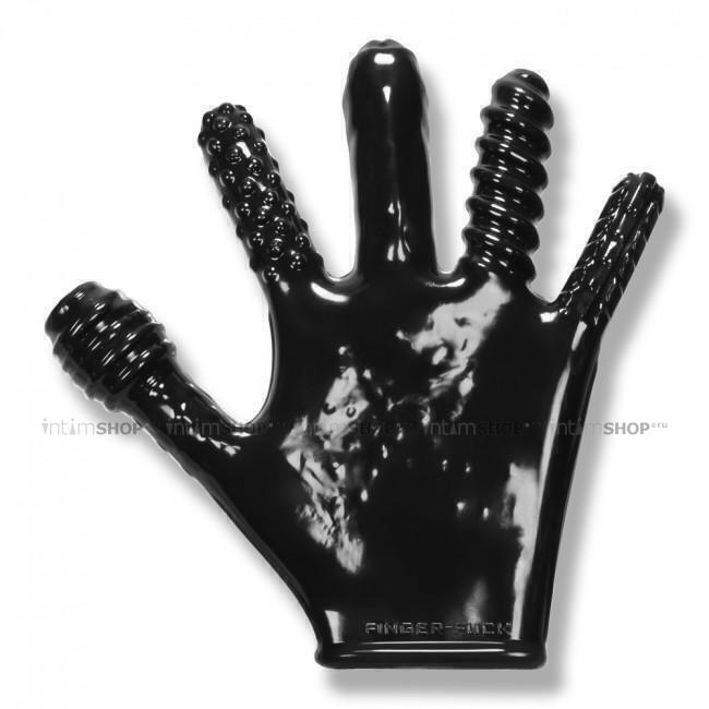 Перчатка для фистинга Oxballs Finger Fuck черный
