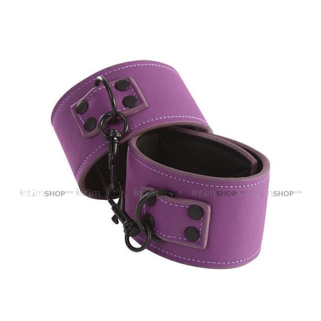 Оковы NS Novelties Lust Bondage Ankle Cuff, фиолетовый