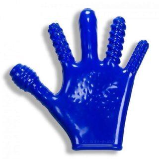 Перчатка для фистинга Oxballs Finger Fuck Glove Blue Os, синий