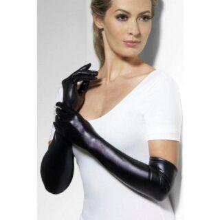 Перчатки Госпожи Wet Look Fever