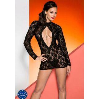 Платье Avanua Rayen black, черное S/M