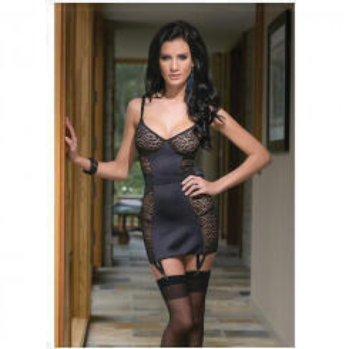 Платье Coquette с Леопардовыми Вставками, L