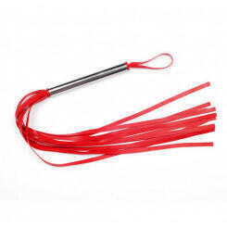 Плеть латексная лента красная