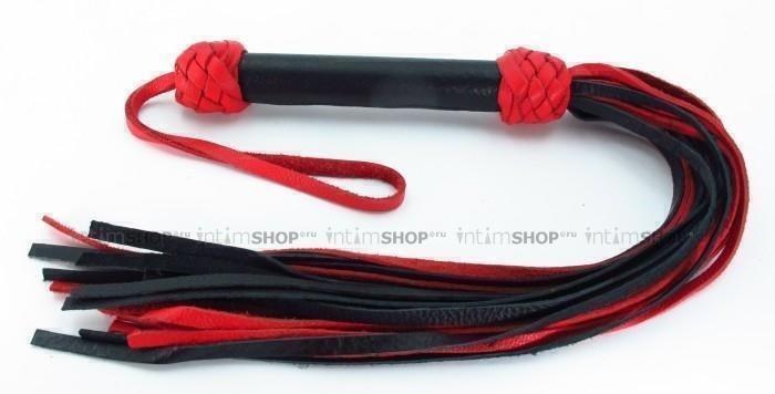 Плеть красно-черная Турецкие головы