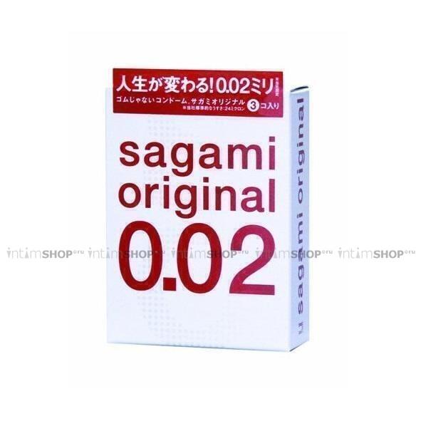 Полиуретановые презервативы Sagami Original 0.02 №3