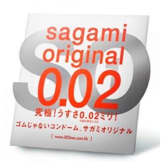 Полиуретановые презервативы Sagami Original 0.02 №1