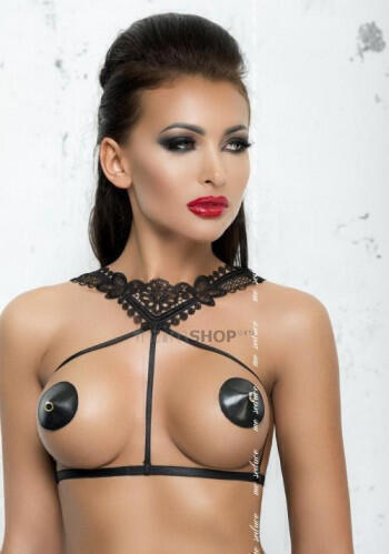 Портупея Me Seduce Harness 4 Black, S/M
