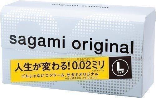 Презервативы Sagami №12 Original 0.02 L-size . Нет в наличии