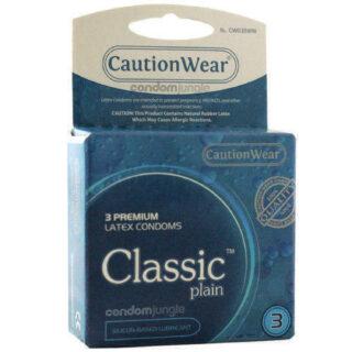 Презервативы Caution Wear Classic Plain 3 шт