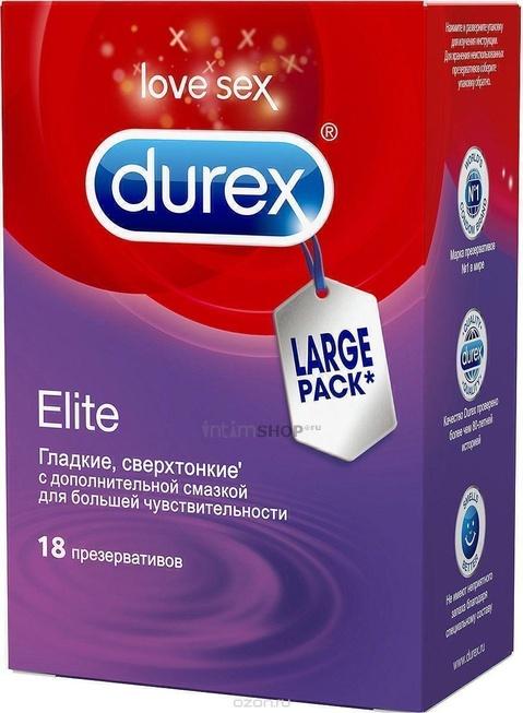 Презервативы Durex №18 Elite