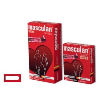 Презервативы Masculan №1 Classic Классической Формы 10 шт