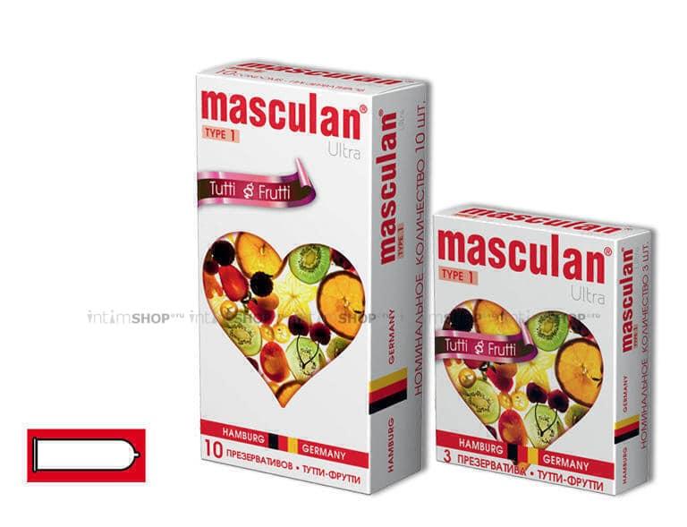 Презервативы Masculan №1 Ultra с Фруктовым Ароматом 10 шт