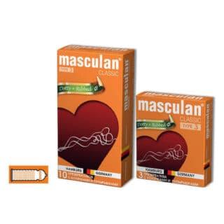 Презервативы Masculan №3 Classic с Колечками и Пупырышками 10 шт