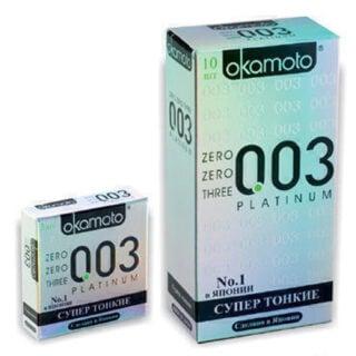 Презервативы OKAMOTO Platinum №10