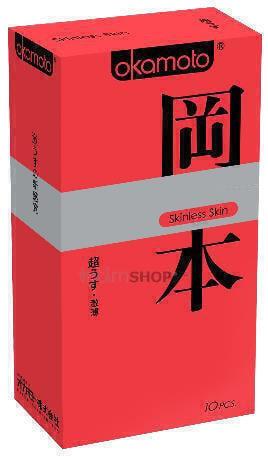 Презервативы Okamoto Skinless Skin Super Thin 10 шт