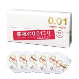 Презервативы SAGAMI Original 001 полиуретановые 5шт