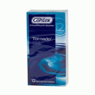 Презервативы специальной формы Contex Tornado №12