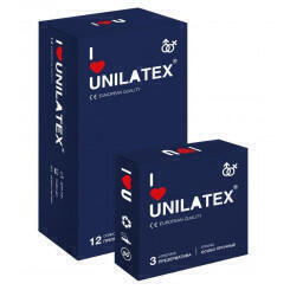Презервативы Unilatex 12 шт + 3 шт в подарок, особо прочные