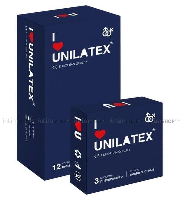 Презервативы Unilatex Extra Strong 12 шт.