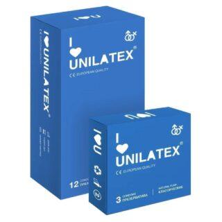 Презервативы Unilatex Natural Plain 12 шт.