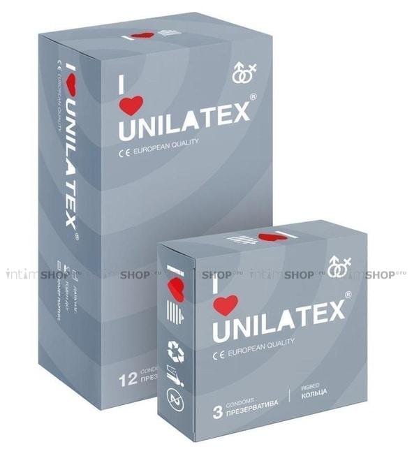 Презервативы Unilatex Ribbed 12 шт.
