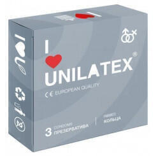 Презервативы Unilatex Ribbed 3 шт.