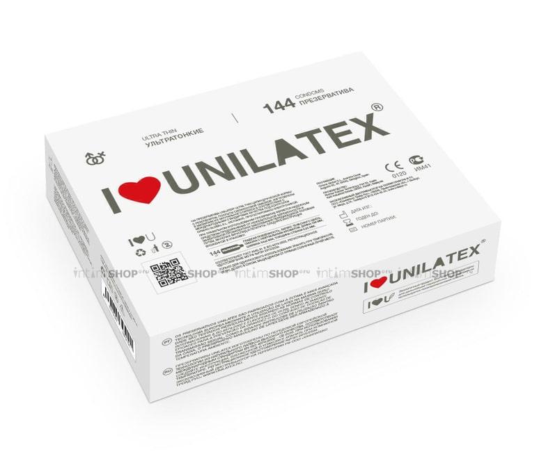Презервативы Unilatex Ultrathin 144шт