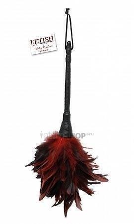 Щекоталка с перьями 35,6 см